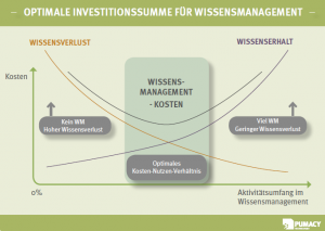 Optimale Investitionssumme für Wissensmanagement